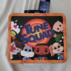 Tune Squad Space Jam X Pop x LeBron Lunch Tote Tin